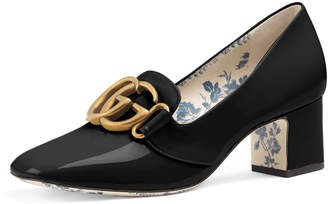 Gucci Patent Leather 55mm Loafer
