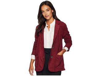Mod-o-doc Truly Sueded French Terry Boyfriend Blazer
