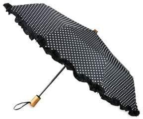Saks Fifth Avenue Ruffled Automatic Umbrella