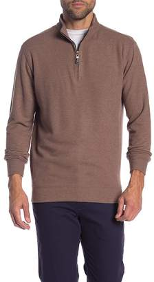 Peter Millar Melange Quarter Zip Sweater