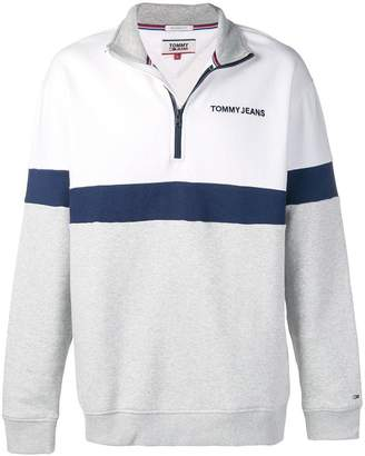 Tommy Jeans logo embroidered sweatshirt