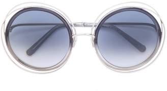 Chloé Eyewear double frame sunglasses