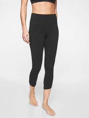 Athleta Organic Cotton Be Present Capri