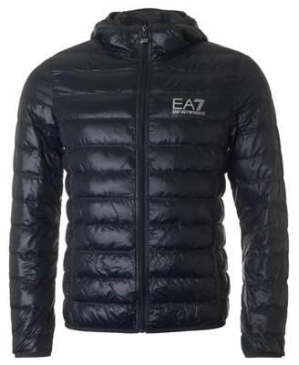 Puffa Ea7 Packaway Hooded Jacket