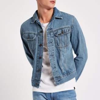 River Island Lee light blue slim fit denim jacket