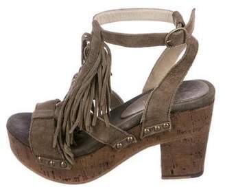 Fiorentini+Baker Fringe Platform Sandals