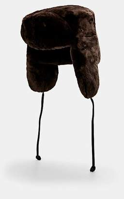 a3a2a5cdef5a8d Crown Cap Men's Fur Trapper Hat - Brown