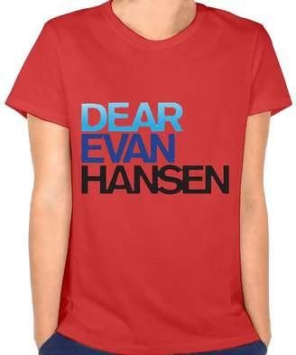 Iancaopin-nt-id Iancaopin Womens T - Shirt Dear-Evan-Hansen T-Shirt Cotton Short Sleeve XXL