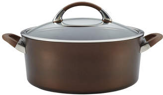 Circulon Symmetry Hard-Anodized Nonstick Covered 7 Qt Dutch Oven