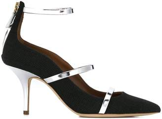 Malone Souliers ankle buckle pumps