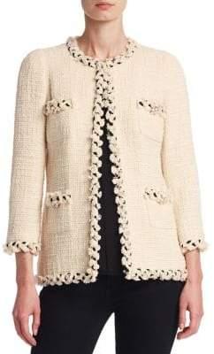 Hip Length Tweed Jacket