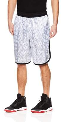 AND 1 AND1 Men's All Net Mesh Basketball Shorts