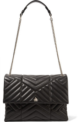 Lanvin - Sugar Medium Quilted Leather Shoulder Bag - Black $2,250 thestylecure.com