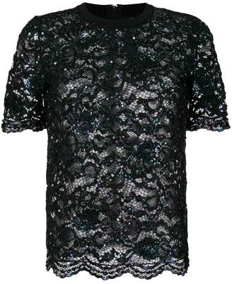 Ashish sequined tulle T-shirt