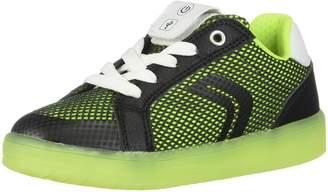 Geox Boy's J KOMMODOR BOY Sneakers, Navy/Lt Blue