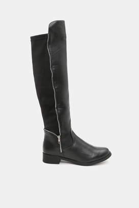 Ardene Knee-High Stretch Back Boots