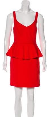 BB Dakota Minny Ponte Peplum Mini Dress w/ Tags