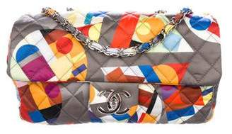 Chanel Multicolor Coco Color Medium Flap Bag