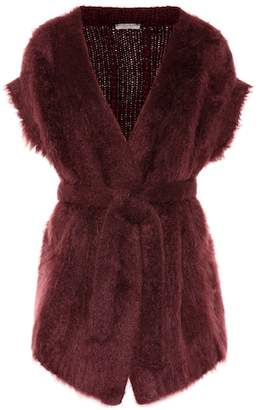 Bottega Veneta Mohair and wool-blend cardigan