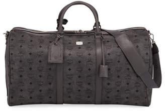 MCM Men's Traveler Visetos Extra Large Weekender Duffel Bag