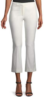 Theory White Cropped Pants