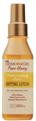 Crème of Nature Pure Honey Curl Texturizing Setting Lotion