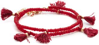 Shashi Laila Wrap Bracelet $50 thestylecure.com