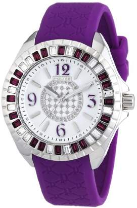 Police Women's 'Jade' Quartz Stainless Steel and Rubber Dress Watch