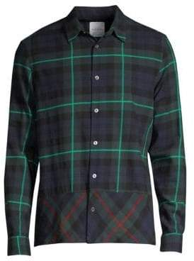 Paul Smith Tartan Button-Down Shirt