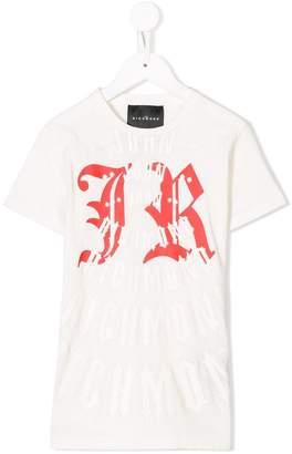 John Richmond Junior logo print T-shirt