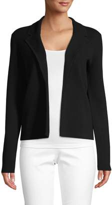Saks Fifth Avenue Notched Cotton Blend Blazer