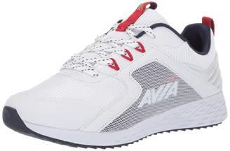 Avia Women's Avi-Ryder Sneaker White/Chinese red/Peacoat/Gold 7.5 Medium US