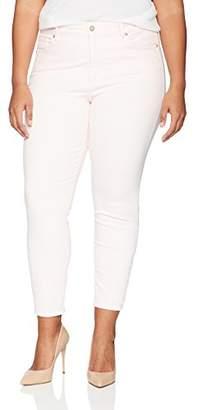 NYDJ Women's Plus Size Alina Ankle Jeans