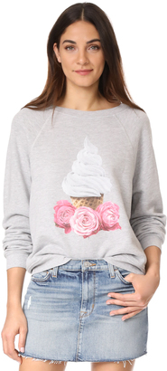 Wildfox Soft Serve Shrine Sweatshirt $108 thestylecure.com