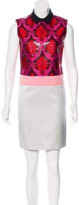 Mary Katrantzou Sleeveless Mini Dress w/ Tags
