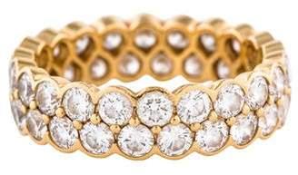 Cartier Diamond Double Row Wedding Band