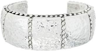 Simon Sebbag Sterling Silver Hammered Cuff Bracelet
