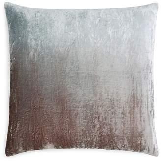 "Kevin OBrien Kevin O'Brien Studio Dip-Dye Silk Velvet Decorative Pillow, 20"" x 20"""