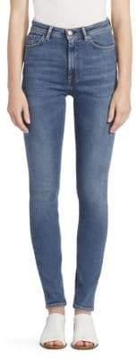 Acne Studios High-Rise Five-Pocket Jeans