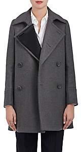 The RERACS Women's Wool Peacoat - Gray