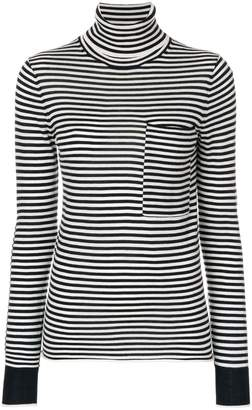 Joseph striped turtleneck sweater