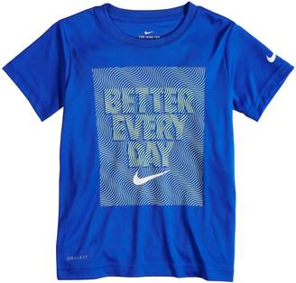 """Nike Boys 4-7 Better Everyday"""" Graphic Tee"""