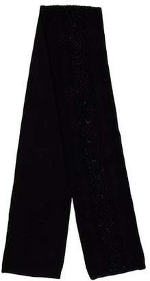 Ralph Lauren Embellished Wool-Blend Scarf