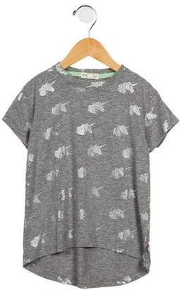 Appaman Fine Tailoring Girls' Unicorn Print Top