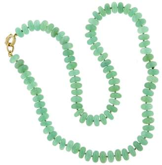 Irene Neuwirth 8mm Chrysoprase Beaded Necklace - 18 Inch