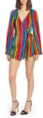 Show Me Your Mumu Rainbow Parade Pleat Romper
