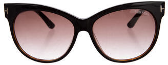Tom Ford Tom Ford Saskia Cat-Eye Sunglasses