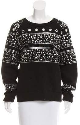 MICHAEL Michael Kors Studded Oversize Sweater