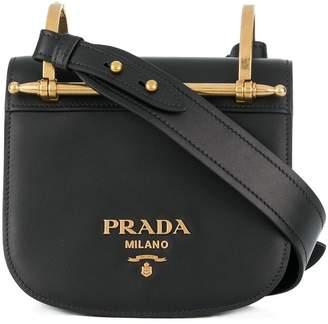c8fab9c96878 Prada Black Leather Crossbody Bags For Women - ShopStyle Canada