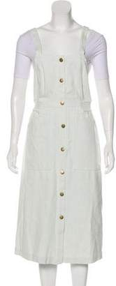 Apiece Apart Denim Overall Dress w/ Tags
